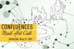 CONFLUENCES mail art project exhibition